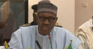 Nigeria President Mohammadu Buhar