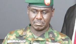 Chief of Army Staff (COAS), Lt-Gen. Tukur Buratai
