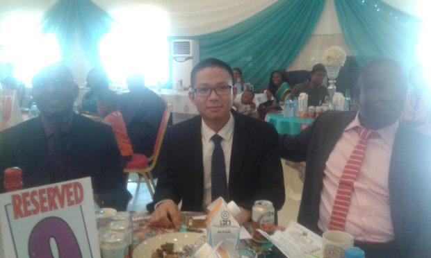 Longrich company representative. Mr Bruce Guo