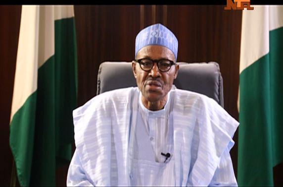 President Muhammadu Buhari Photo credit: NTA