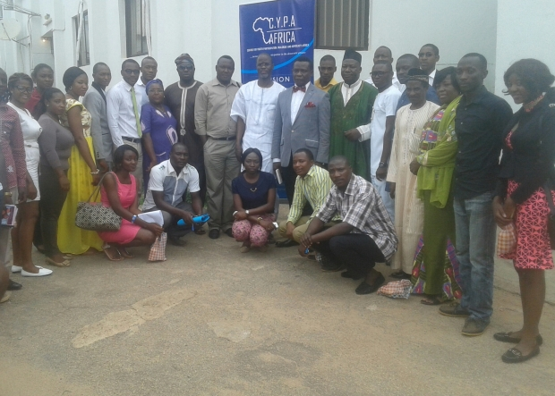 C.Y,P.A members and participants at the event