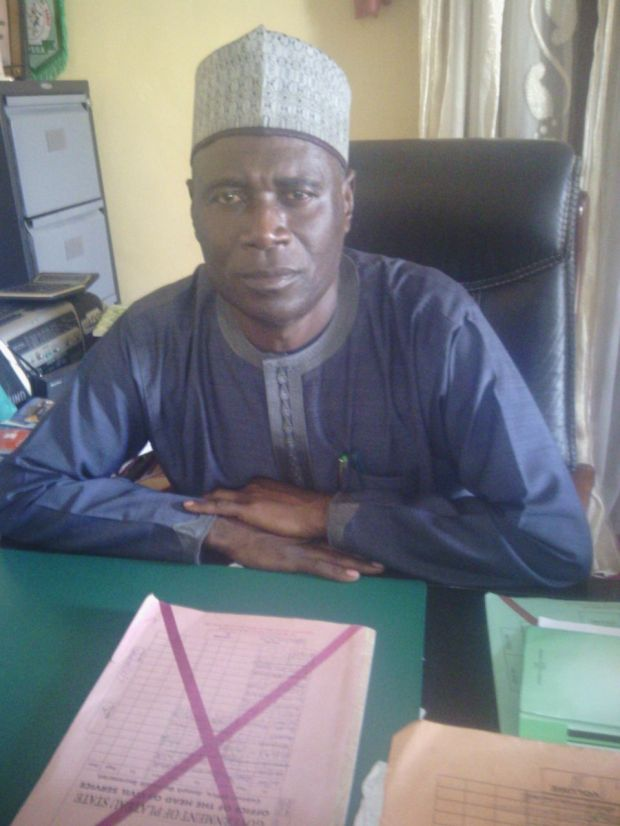 Head of Civil Service, Plateau State Izam Atang Azi