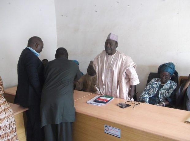 Plateau State PDP Chairman, Damishi Sango