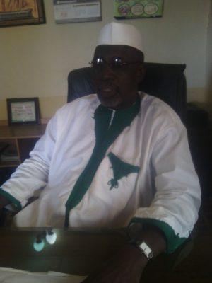 Chairman AMDN, Plateau State, Alhaji Yahaya Muhammad Kega