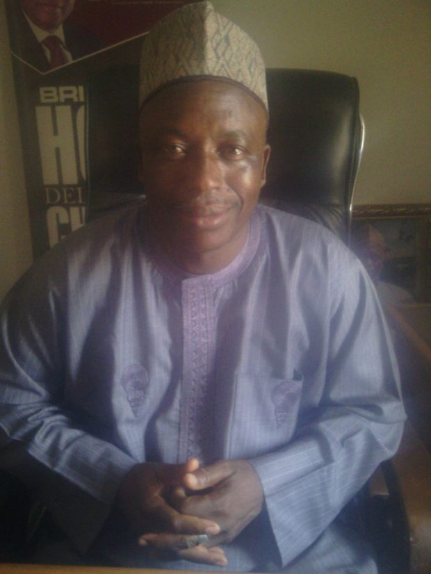 Plateau State Commissioner of Environment and Solid Minerals, Alh. Abdullahi Abbas