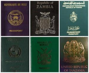 AFRICAN UNION PASSPORTS