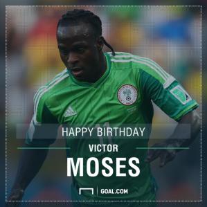 Photo credit: Goal.com Nigeria Super Eagle: Victor Moses