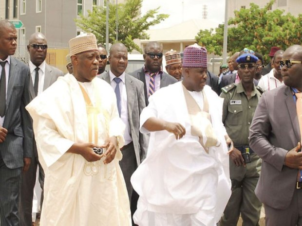 Photo credit: Thisday Factional leadership of the Peoples Democratic Party (PDP) led by Senator Ali Modu Sheriff