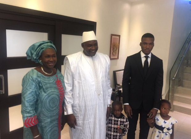 president-adama-and-family